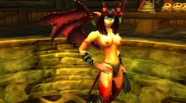 Wow nude patch Succubus