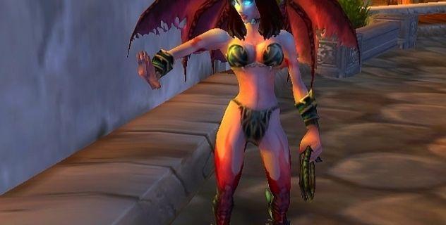 Succubus corset into bikini