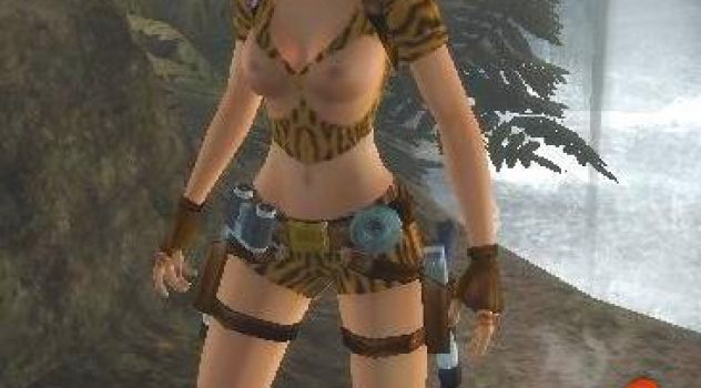 Lara mod sexy jungle outfit