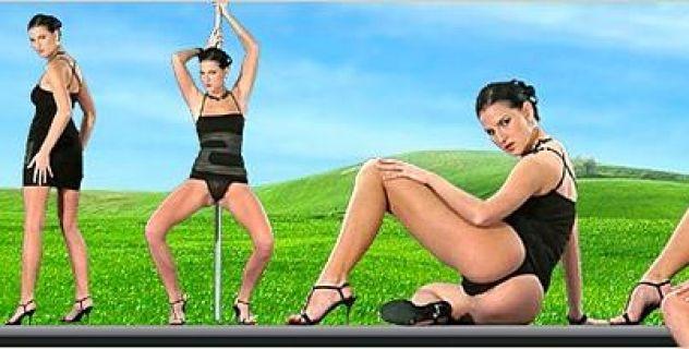 Virtual Girl Walleria, desktop: Black mamba..