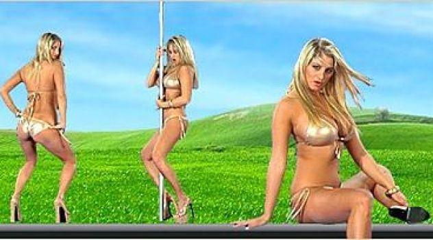 Jenny McClain Bikini,  Desktop Nude Patch, Big Boobs